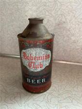 Bohemian Club Beer Bohemian Breweries Spokane Wa Cone Top Beer Can