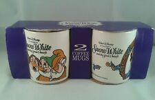 2 New Boxed Walt Disney Classics Snow White And The Seven Dwarfs Mugs/Cups