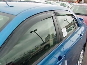 Tape-On Vent Visors for 2003 - 2008 Toyota Corolla