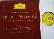 Beethoven Sinfonia Symphony 7 BPO Fricsay LP 1st.ed. dgg lpm 18757