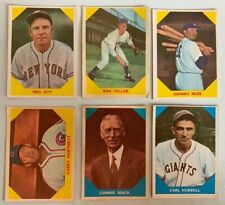 Lot #101 (12) 1960 Fleer Baseball G-VG with Stars HOFers see pics