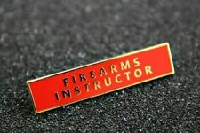 Barre Commendation NYPD Police New York FDNY badge FIREARMS INSTRUCTOR