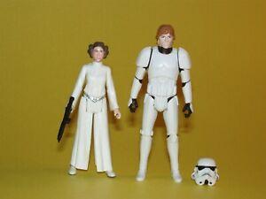 Star Wars Rebels Princess Leia & Luke Skywalker Stormtrooper Disguise Loose