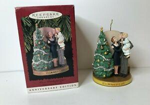Hallmark 1996 It's A Wonderful Life Ornament 50 Years Anniversary Edition