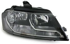 AUDI A3 2009 to 2012  NEW LHD EURO HEAD LIGHTS LAMPS SET DRL left & right