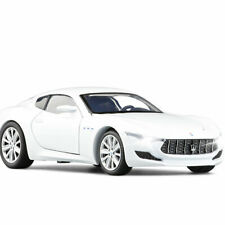 1:32 Maserati Alfieri Model Car Alloy Diecast Toy Vehicle Collection Gift White