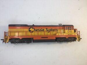Bachmann HO Scale #4127 C&O Chessie System GE U36B Diesel Engine Locomotive NR!