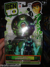 BEN 10 DVD (40 MINUTES), PLUS FIGURES X RAY BEN AND DIAMONDHEAD V.2, NEVER OPEN