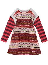 Deux Par Deux Set Me Free Brushed Jersey Dress Girls Long Sleeves 5 to 12