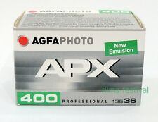 3 rolls AGFA APX 400 Black and White Film 35mm 36exp 135-36