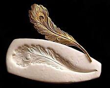 Sugarcraft Molds Polymer Clay Cake Border Mold peacock bird feather