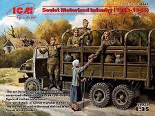 ICM 1/35 soviético Motorizado Infantería 1943-45 #35635