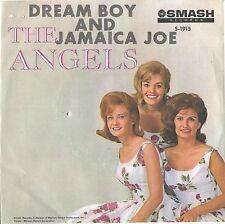 ANGELS--PICTURE SLEEVE + 45--(DREAM BOY/JAMAICA JOE)---PS--PIC--SLV