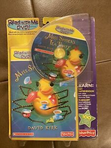 Fisher Price Read With Me DVD! Software Miss Spider's Tea Party NEW SEALED