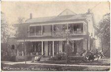 McCracken House Hotel in Mooresville IN Postcard