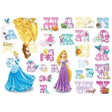 Disney Princess alphabet autocollantes autocollants muraux