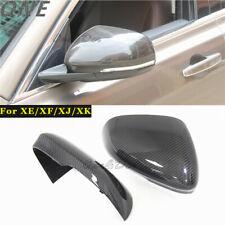 Carbon Fiber Side Mirror Cover for 2009+ Jaguar XE XF XJ/R XK/RS Replace Casing