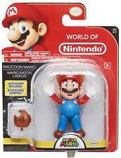 "World of Nintendo 4"" Action Figure Wave 12 - Raccoon Mario w/ Leaf"