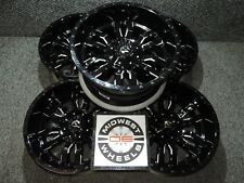 "1987-2018 Jeep Wrangler YJ TJ JK Fuel Sledge Wheels Rims 20"" 20X10 D59520002647"