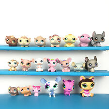 Lot 20 Littlest Pet Shop Mouse Rat Guinea Pig Hamster Chinchilla LPS Set Souris