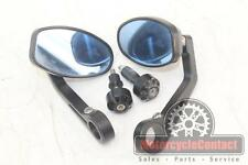 07-12 TRIUMPH STREET TRIPLE 675 RIZOMA BAR END BAREND MIRRORS SIDE REAR VIEW