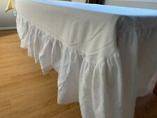 New listing Queen Bed Skirt Dust Ruffle 15� Drop White by Westpoint Stevens Eyelet Design