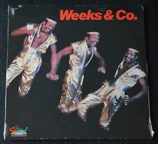 WEEKS & CO. - SELF TITLED-FUNK/SOUL-1983-SA 8560-SEALED LP