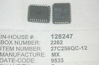 MX MX27C256QC-12 PLCC Eprom New Lot Quantity-1