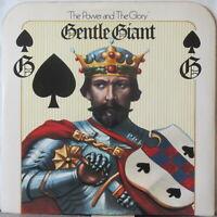 GENTLE GIANT The Power and the Glory LP Original U.K. Press on WWA w/Insert