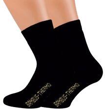 2-10 Paar THERMO Bambus Socken Bambussocken Softrand für Damen und Herren