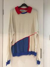 Vintage  80s  Pierre Cardin sports casual retro  XL colour block