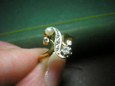 Crystal Vintage Fine Rings (Unknown Period)
