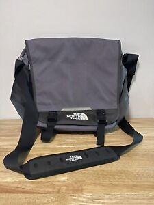 The North Face Black Multi Compartments Messenger Travel Crossbody Shoulder Bag