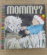 Mommy? by Maurice Sendak, Matthew Rhinehart 2006 pop-up monster halloween