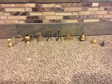 Vintage Lot Brass Miniature Dollhouse Items Vase Pitcher Iron Coffee Grinder +