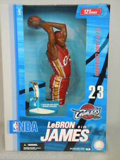 "McFarlane LeBRON JAMES CAVS #23 ROOKIE 2004 Red Uniform 2nd NBA 12"" Figure_NRFB"