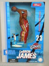 "McFarlane LeBRON JAMES CAVS #23 ROOKIE 2004 Red Uniform 2nd NBA 12"" Figure_NRFB"