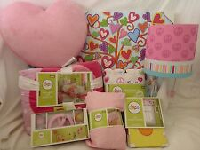 11 pc Circo Peace Girl Collection Twin Complete Quilt Bed Set NIP