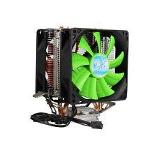 3 Pin Dual Fan CPU Cooler Heatsink For Intel LGA775/1150/1155 AMD AM2/AM2+/AM3