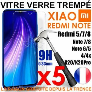Vetro Protezione Pellicola Temperato Xiaomi REDMI 9 9A/8A Note 9 9S Pro 8 8T 7