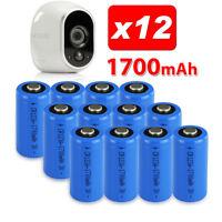12X NEW!! CR123A Battery Netgear Arlo Security Camera VMS3330 3430 3230 3310 OZ