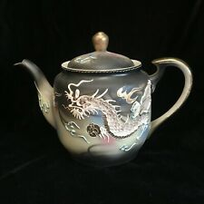 TMK China Japan Dragonware Embossed Dragon Handpainted Tea Pot