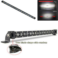 "20"" 180W 18000LM Single Row Aluminum 6D Spot Beam Slim LED Work Light Bar IP68"