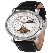Ks Luxury Tourbillion Moon Phase Automatic Mechanical White Dial Mens Wrist Watc