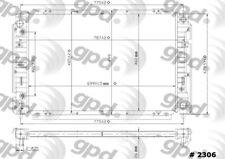 Radiator Global 2306C