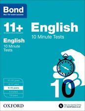Bond 11+: English 10 Minute Tests: 9-10 years (Paperback), Lindsa. 9780192740533