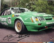 V8 LEGEND DICK JOHNSON SIGNED PHOTO
