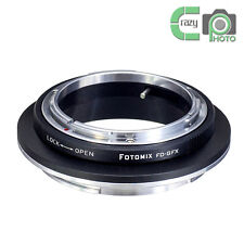FOTOMIX FD-GFX Adapter Canon FD Mount Lens to Fujifilm GFX Medium Format Camera