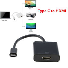 Portable USB 3.1 Type C USB-C to 4K HDMI Adapter Cable for Apple MacBook Google