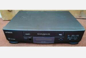 VHS HITACHI VT-FX750E DYNAMIC PICTURE EQ VIDEO CASSETTE PLAYER Recorder TESTED
